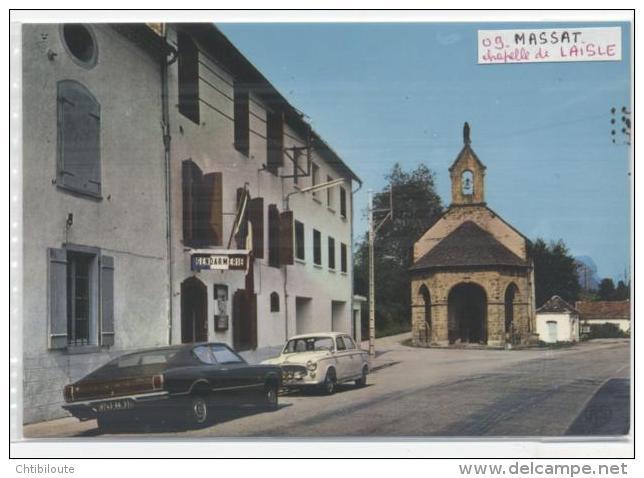 """MASSAT   /  09   """"  VUE GENERALE    """"  CPM / CPSM    10 X 15 - Autres Communes"""
