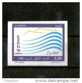 Timbre Non-dentelé -Expo 98- Exposition Universelle à Lisbonne Portugal - Algérie (1962-...)