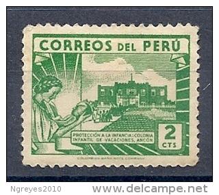 13054711  PERU  YVERT  Nº  391  *  MH - Peru