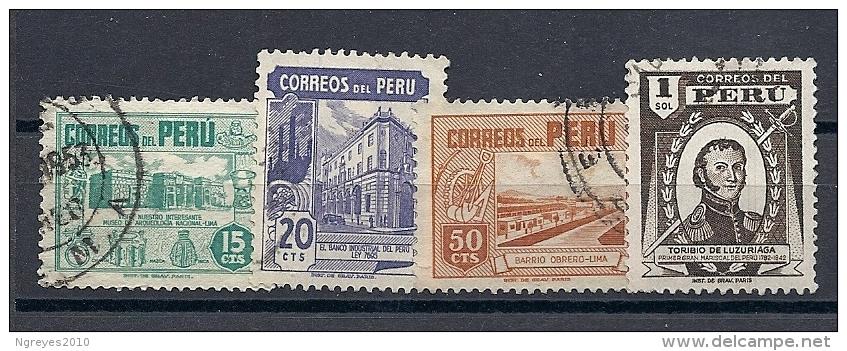 13054717  PERU  YVERT  Nº  410/13 - Peru