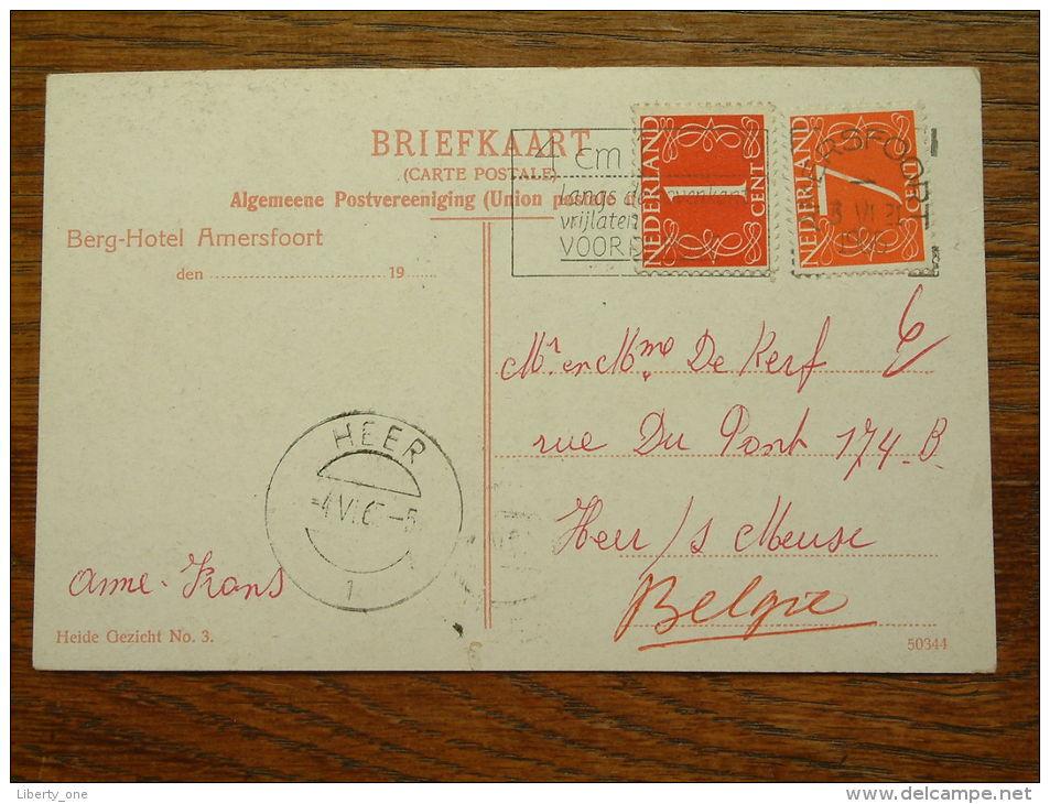 Heide Gezicht N° 3 - Anno 1965 Gelopen HEER ( Zie Foto Voor Details ) !! - Holanda