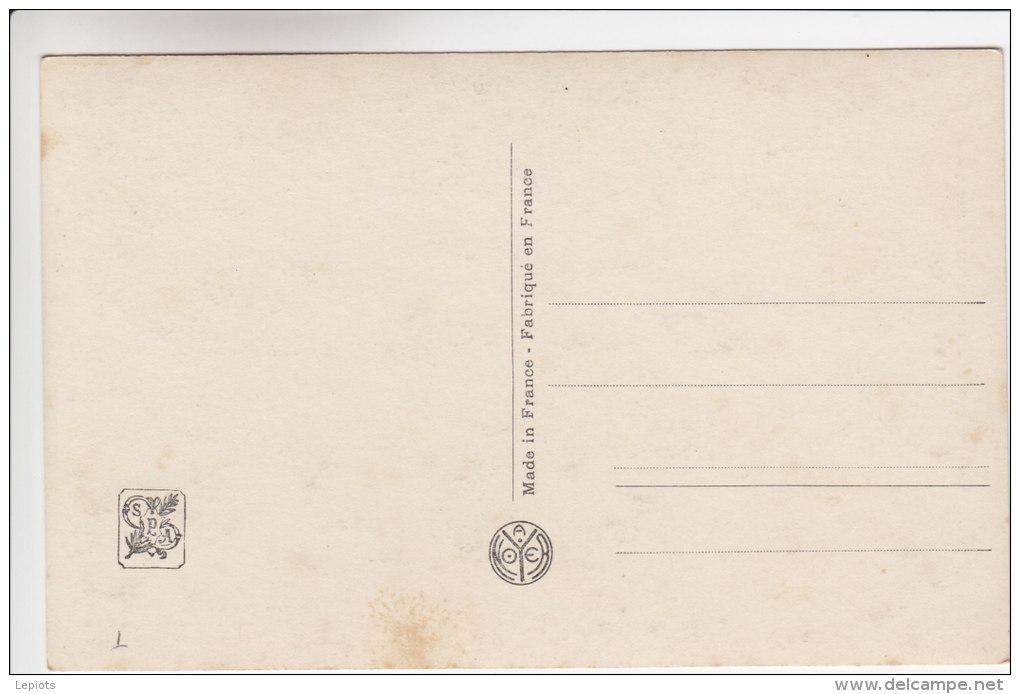 77 - Moret Sur Loing - Tableau D´Albert Moullé - Les Bords De L´Orvanne - Le Lavoir D' Ecuelle- Carte Dédicacée - Moret Sur Loing
