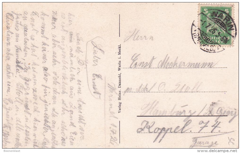 Warin I. Meckl. (HV) Wariner See - Germany