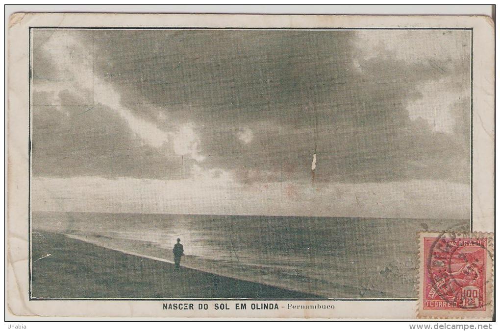 Olinda.Nacer Do Sol Em Olinda.Pernambuco. - Recife