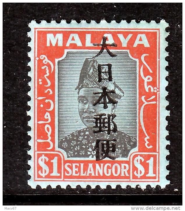 JAPANESE  OCCUP. Selangor  N 40   * - Gran Bretaña (antiguas Colonias Y Protectorados)