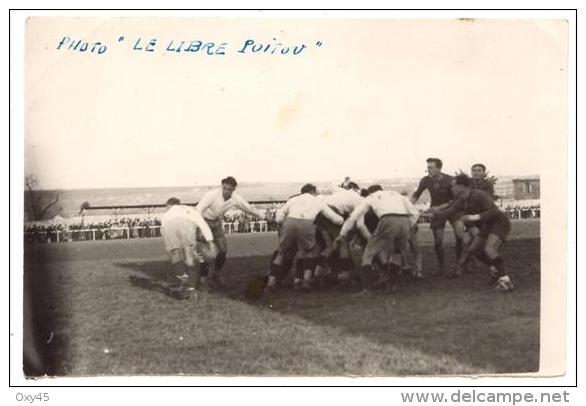 Photo Originale - Match De Rugby - Photo Le Libre Poitou - Rugby
