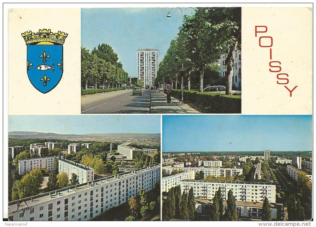 Yvelines : POISSY :  Vues   Cité   Beauregard - Poissy
