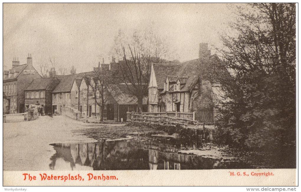 The Watersplash, Denham.          (D452). - Buckinghamshire