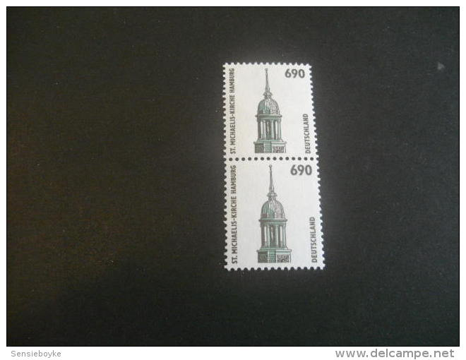 De358- Double Stamp -MNh  - Germany-1996- SC. 1859- ST.Michaels Church Hamburg - Summer 1996: Atlanta