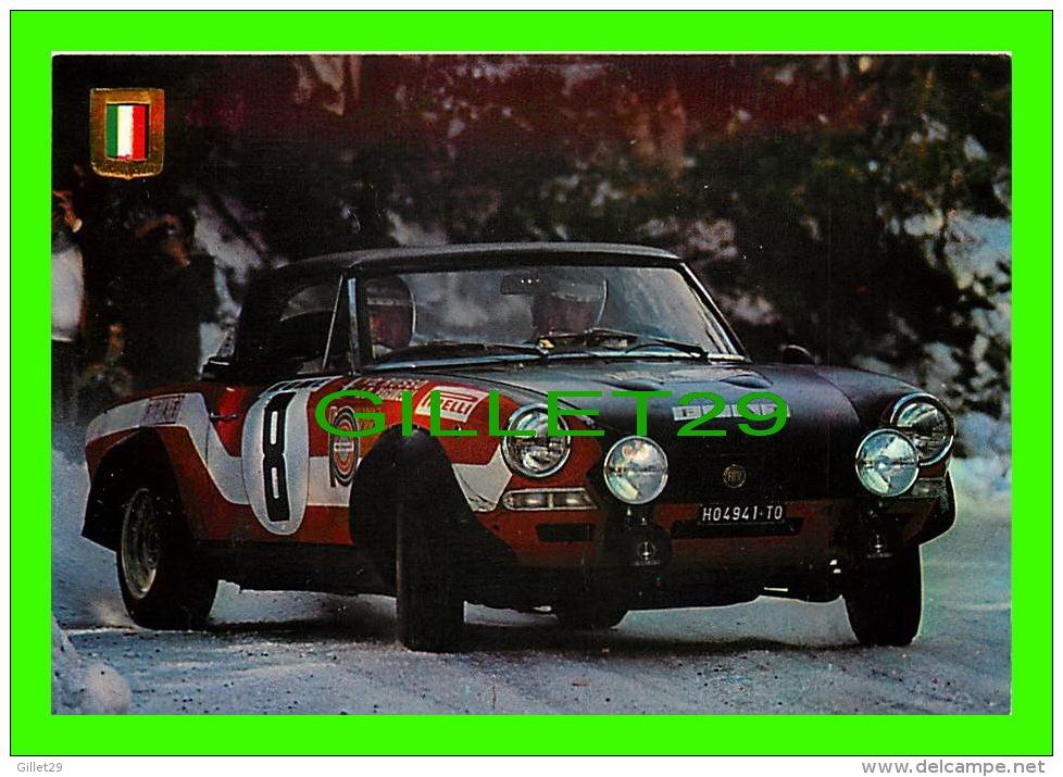 SPORTS AUTOMOBILES. RALLYE - FIAT 124 SPIDER, 1750 C.C. 175 CV - No 4 SERIE AUTOMOBILES RALLYE - - Rallyes
