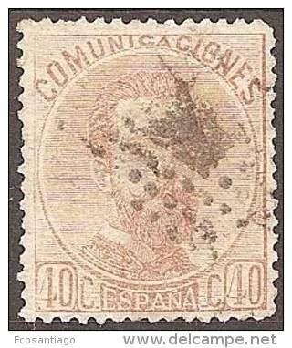 ESPAÑA 1872 - Edifil #125 - VFU - Usados