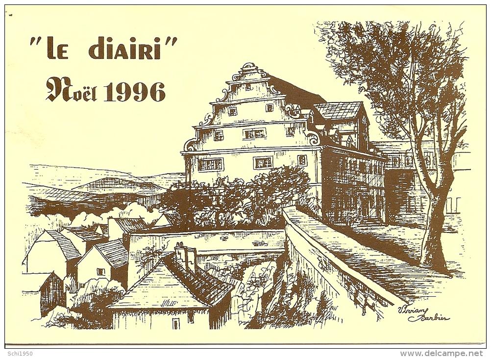 ~  25  ~    LE  DIAIRI  . NOEL 1996 . Carton  Des Concerts . - Francia
