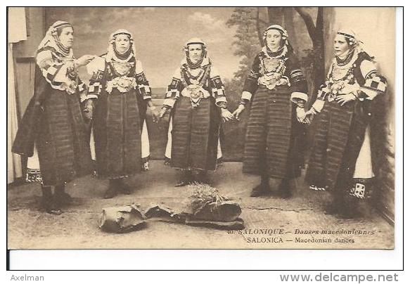SALONIQUE: Pendant La Guerre 1914-1918,  Danses Macédoniennes - Grèce