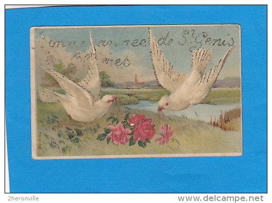 CPA  - 66 - ST GENIS LES ALBERES - Bonne Année De St Genis Les Albères  - - Autres Communes
