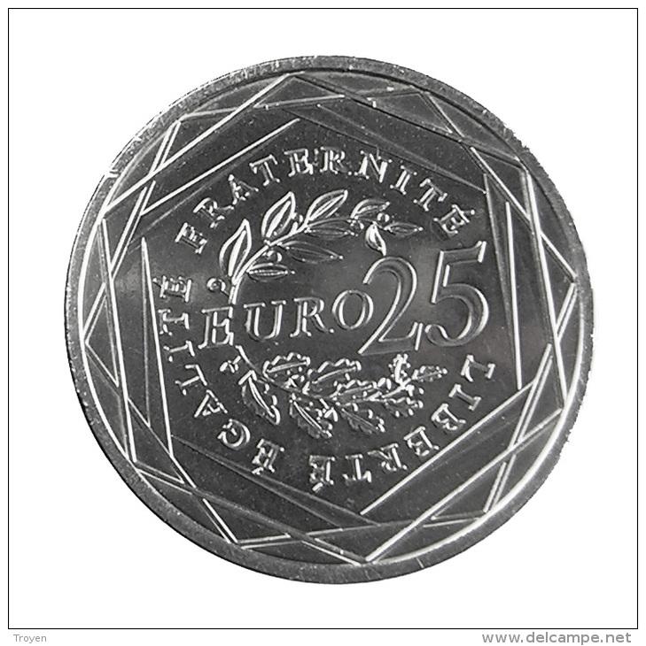 France -  25 Euro -   2009 - Semeuse - Argent - Sup - France