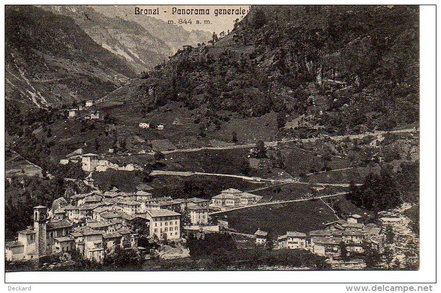 Branzi - Panorama Generale - Como