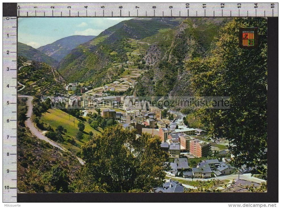 S6780 VALLS D ANDORRA SANT JULIA DE LORIA VISTA GENERAL VG SB - Andorra