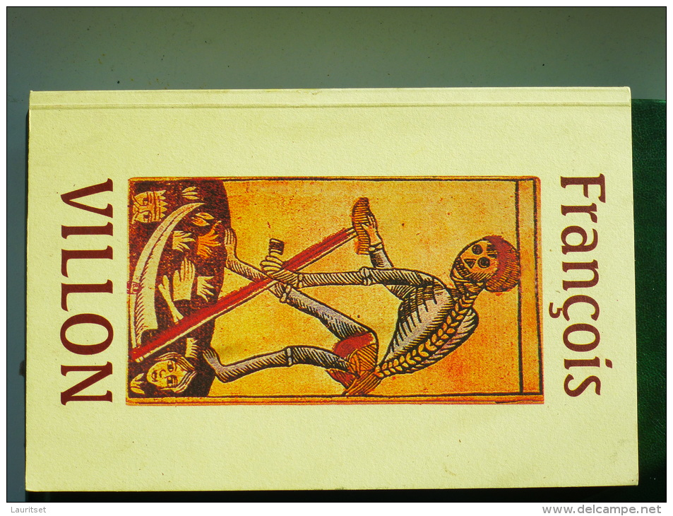 FR. VILLON TESTAMENT In Estonian Estonia Estonie 1997 - Livres, BD, Revues
