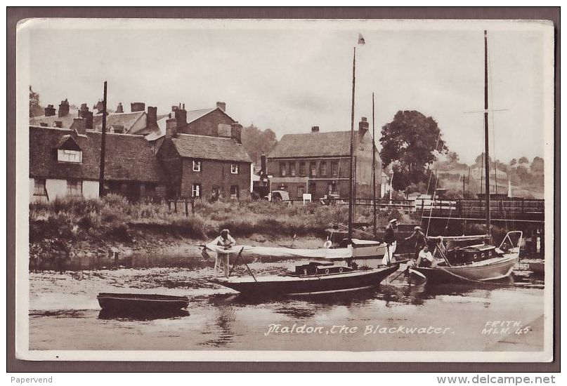Essex  MALDON  River Blackwater Yachts  E1074 - England