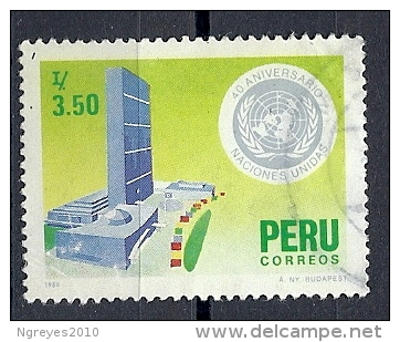 130604916  PERU  YVERT  Nº  832 - Peru