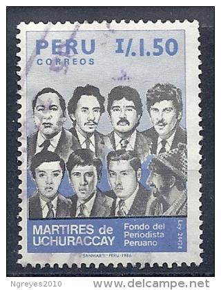130604927  PERU  YVERT  Nº  842 - Peru