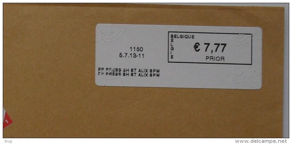 België 2013 PP Press SH St Alix SPW 1150 - Logo Bpost (fragment 114 X 228 Mm) - Frankeervignetten