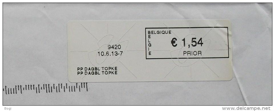 België 2013 PP Dagbl Topke 9420 (briefomslag) - Vignettes D'affranchissement