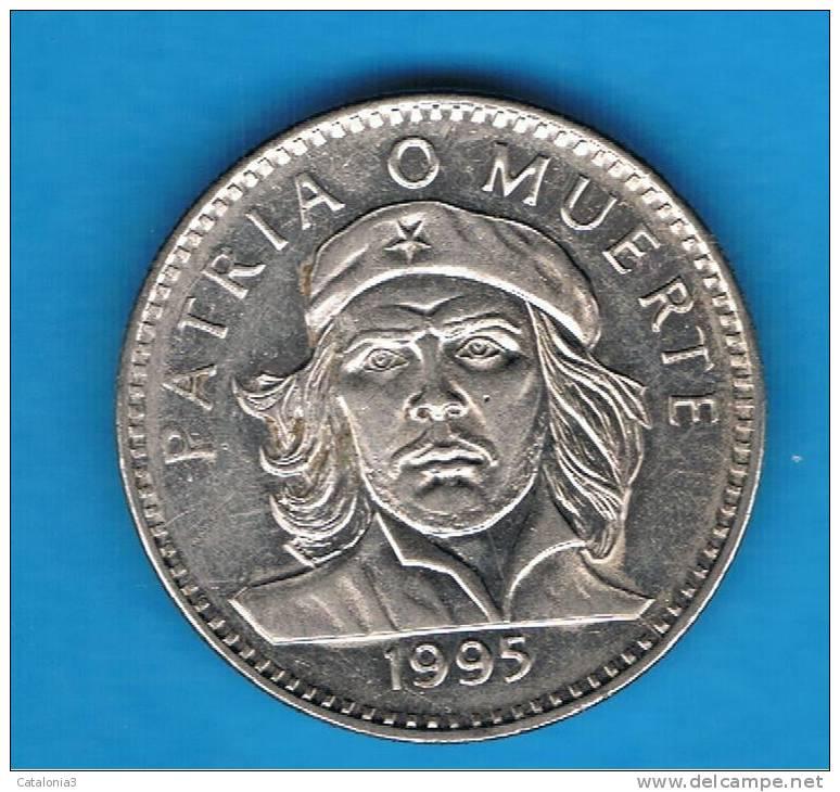CUBA -  3 Pesos  1995  KM346 - Che Guevara - Cuba