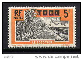 TOGO - N° 127* - LE COCOTIER - Togo (1914-1960)