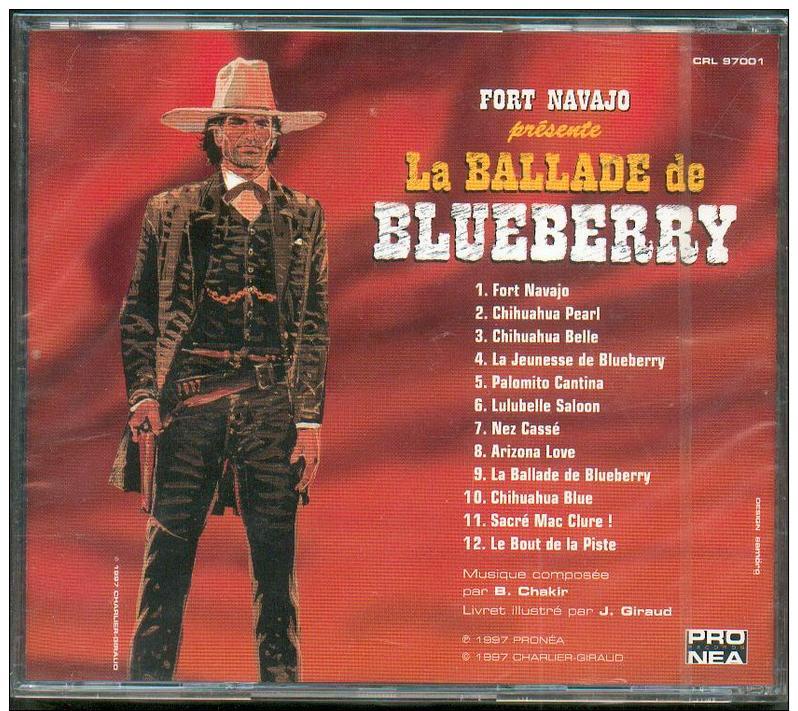 No PAYPAL !! : Gir Jean Giraud (Moebius )CD Collector Illustré La Ballade De Blueberry ,12 Chansons Éo Pronéa 1997 NEUF - Disques & CD