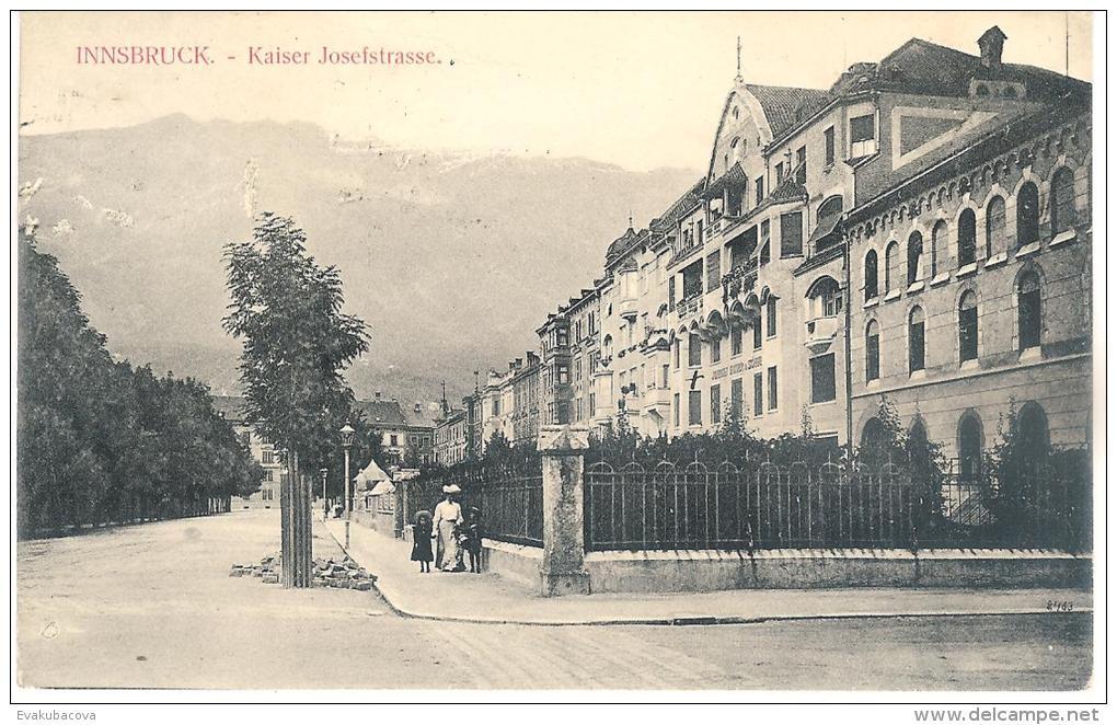 Innsbruck. Kaiser Josefstrasse. - Österreich