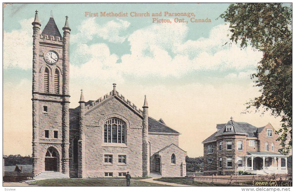 First Methodist Church , PICTOU , Ontario , Canada , PU-1912 - Non Classés