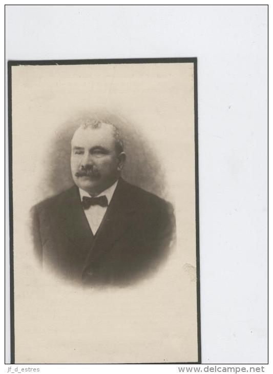 Doodsprentje Schroyens Jan Weduwenaar Van Lucia Van Dyck Contich 1929 Burgemeester - Images Religieuses
