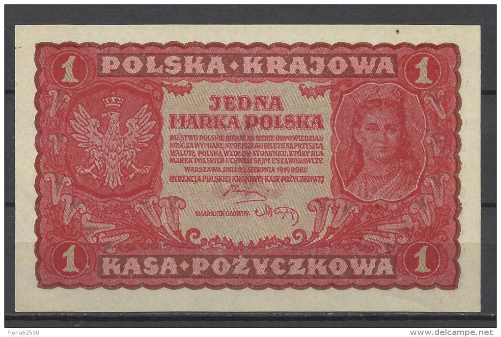 POLOGNE . 1 MARKA  . - Polen