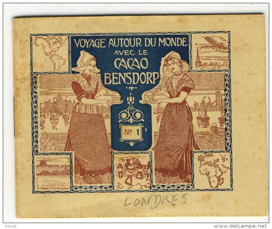 Voyage Autour Du Monde Avec Le Cacao Bensdorp. LONDRES. Petit Livret De 16 Photos Format 10.2x8.2 - Old Paper