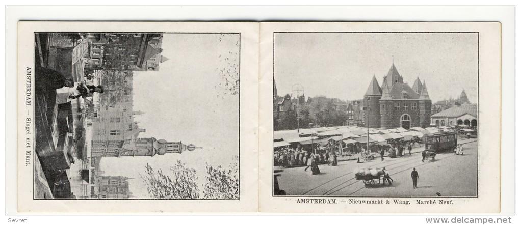 Voyage Autour Du Monde Avec Le Cacao Bensdorp. AMSTERDAM. Petit Livret De 16 Photos Format 10.2x8.2 - Other