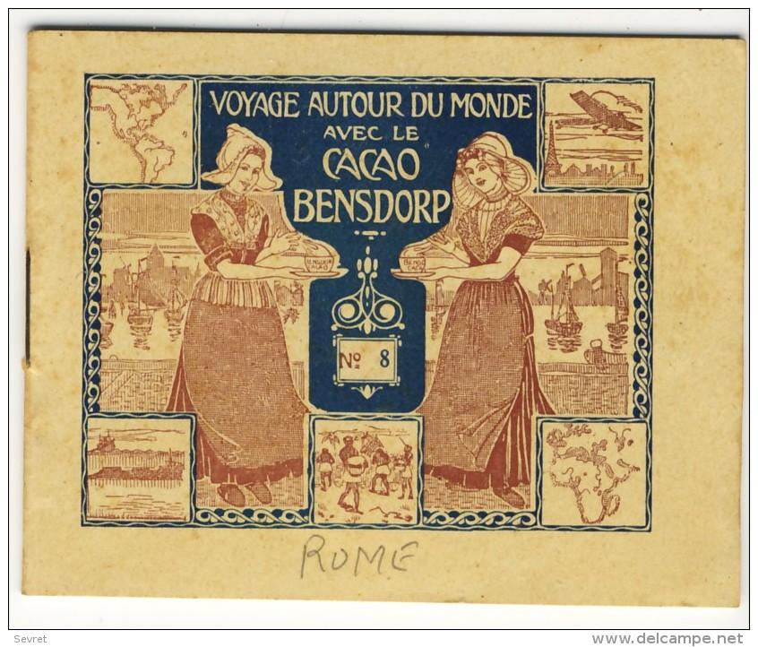 Voyage Autour Du Monde Avec Le Cacao Bensdorp . ROME   . Petit Livret De 16 Photos Format 10.2x8.2 - Other