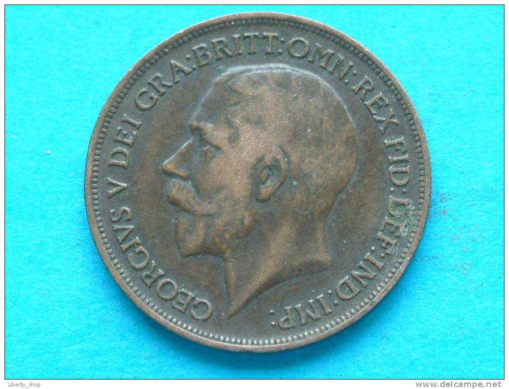 1916 PENNY / KM 810 ( For Grade, Please See Photo ) ! - 1902-1971 : Monnaies Post-Victoriennes