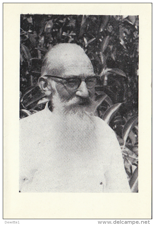 Doodsprentje    -E.W. Broeder Aemilius Lauwers   Missionaris In Kongo Geb. De Klinge -Waas  1892- +Zaire1972 - Images Religieuses