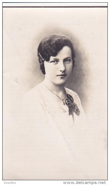 Doodsprentje    -  Ludovica-Blondina Lanckmans Geb.Itterbeek 1914     Overleden Te Ukkel 1943 - Images Religieuses