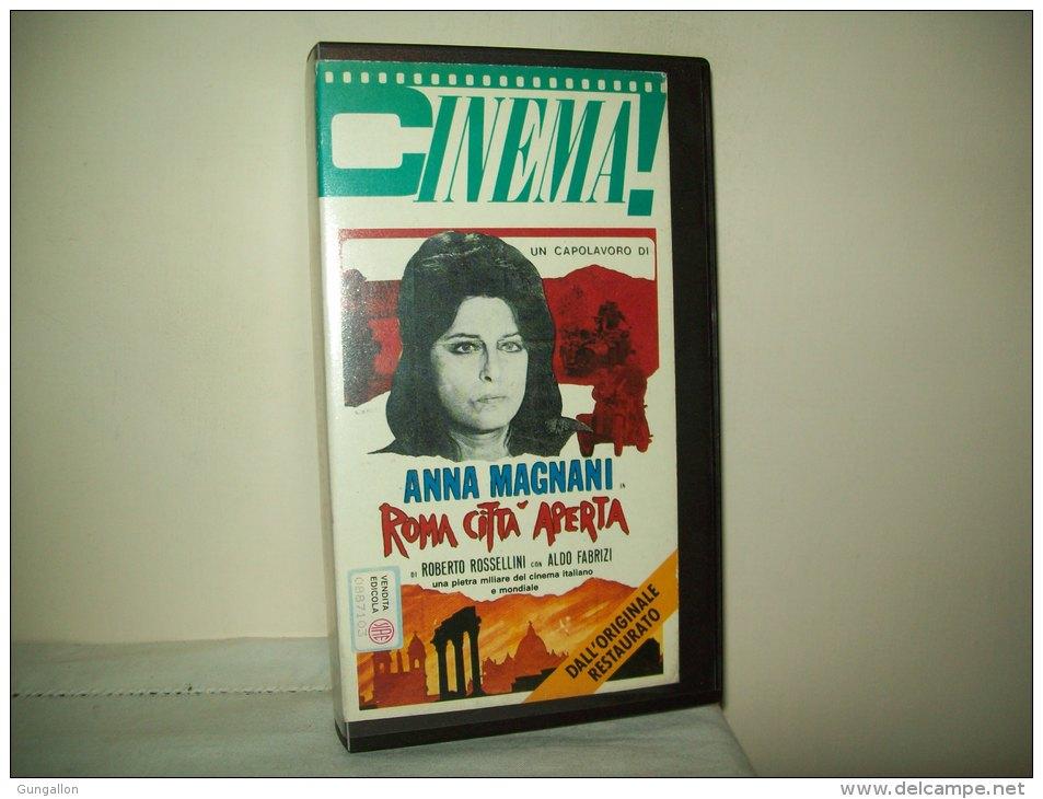 """Film In Videocassetta  """"Roma Città Aperta"""" Con Anna Magnani E Aldo Fabrizi - History"""