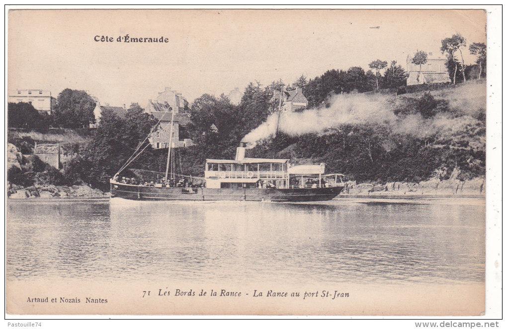 Côte  D´Emeraude.  71  Les  Bords  De  La  Rance  -  La  Rance  Au  Port  St-Jean. - France