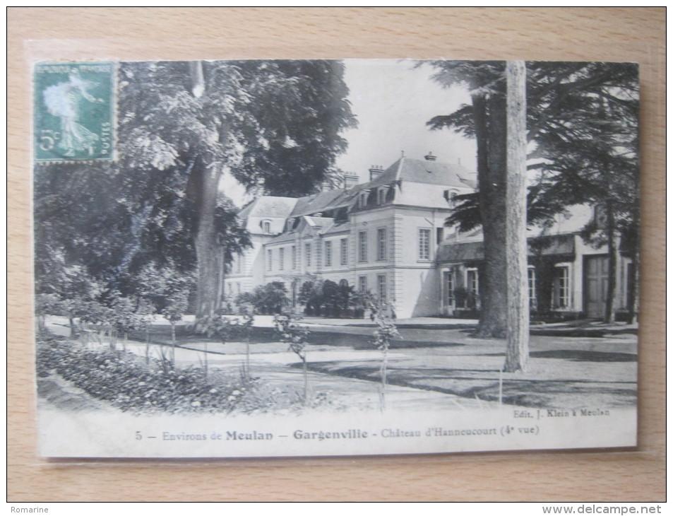 Gargenville - Chateau D'Hannecourt (4e Vue) - Gargenville