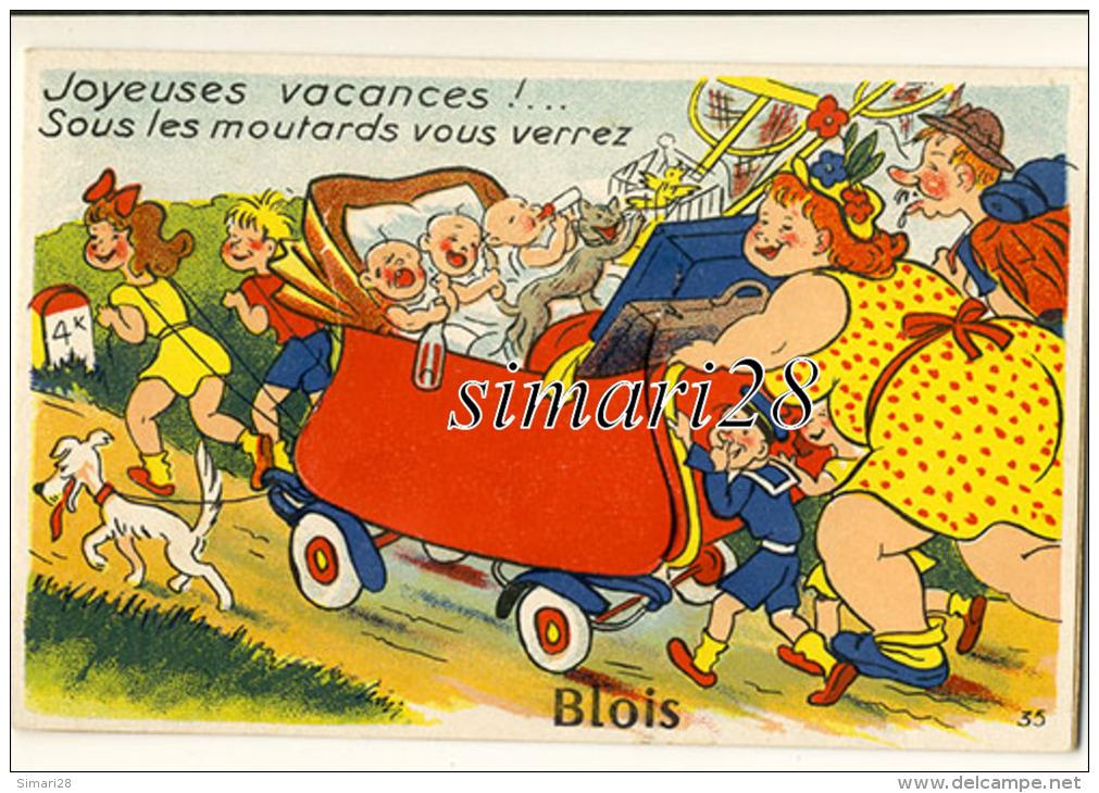 BLOIS - CARTE A SYSTEME - Blois