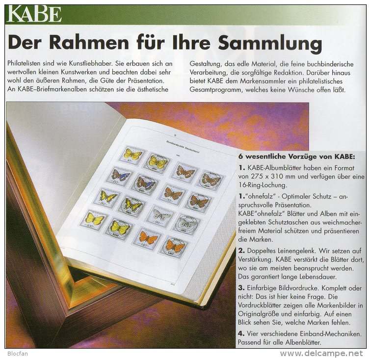 Teil 9 Vordruck-Album Deutschland 2000-2004 Wie Neu 196€ KABE BI-collect Ohne Falz Einzeln Im Komplett-Album BRD 1949/04 - Alben & Binder