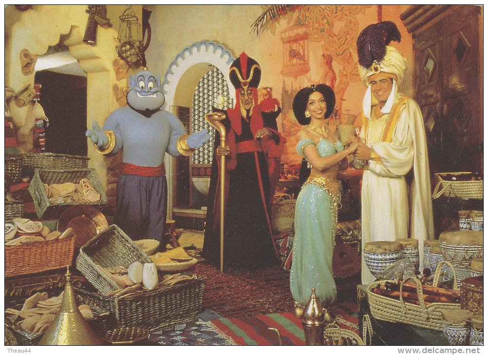 ¤¤  DISNEYLAND -  Aladin Et Ses Amis Dans Le Bazaar D'Adventureland   ¤¤ - Disneyland