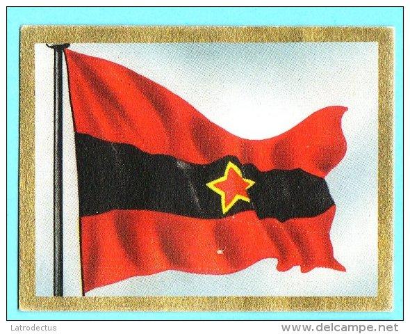 Die Welt In Bunten Flaggenbild - 1950 - Teil I - B.48 - Albanien, Shqipëria, Albania - Autres