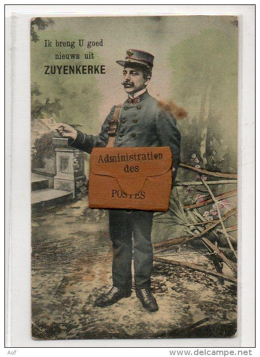 6410 ZUYENKERKE Facteur Carte à Système - Zuienkerke