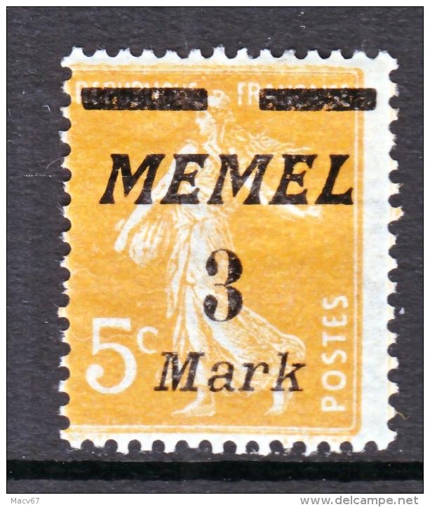 Memel  64  * - Memel (1920-1924)
