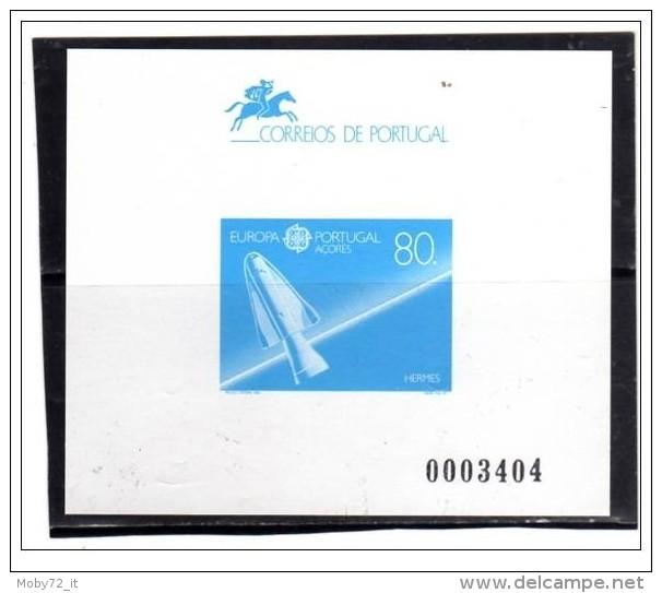 Azzorre - 1991 - Nuovo - Europa CEPT - Saggio Di Stampa Numerato - Azoren